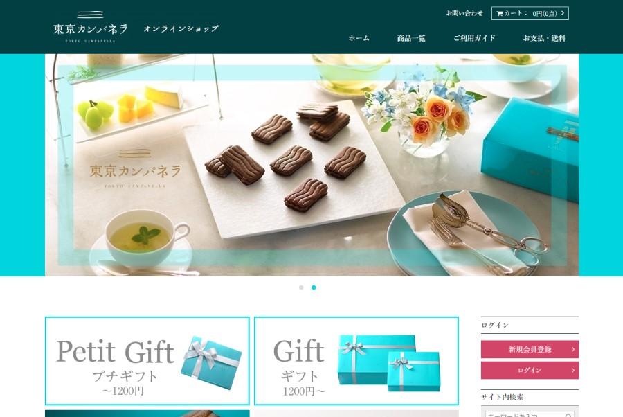 株式会社アイル様 東京カンパネラ ECサイト