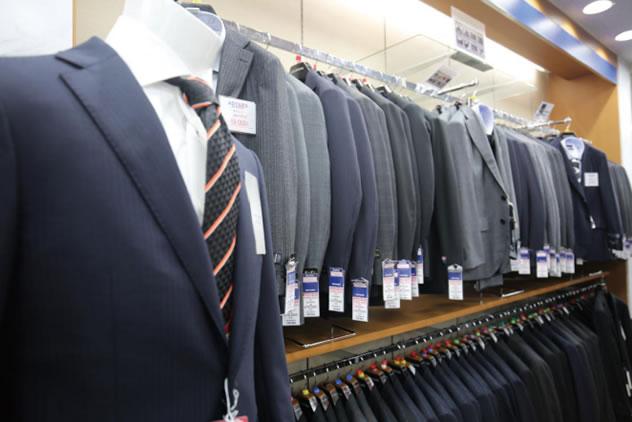 スーツ販売チェーン店の訪日向けプロモーション2